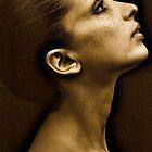 Former ballerina Nanette Glushak by Daniel Sorine
