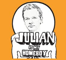 Julian Assange is my Homeboy by adlorin