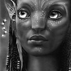 Neytiri drawing study by John Harding