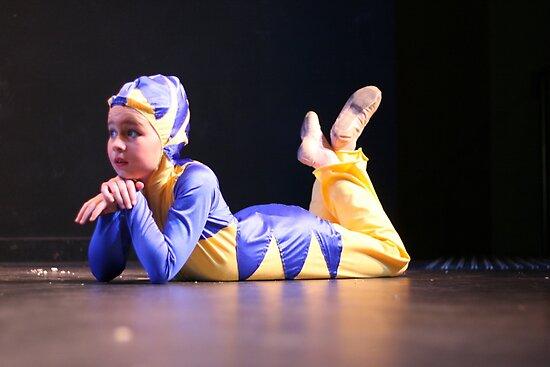 Flounder Ariel's friend by Christina  Sherwood