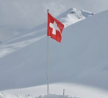 Flag of Switzerland by Martin Gyger