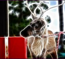 A Present for Rudolph: Fractalius by Cherubtree