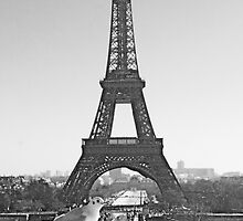 Eiffel Tower  by Louise Fahy