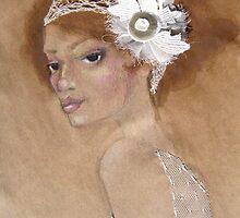 Ivory Headpeice by christijay