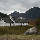 Black Rock Cottage, Glencoe by Fiona MacNab