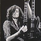 Jimmy Page by Michael James Toomy