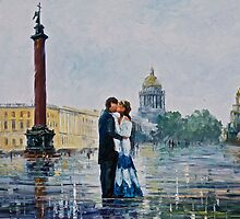 ST. PETERSBURG - Original Art Oil Painting By Leonid Afremov by Leonid  Afremov