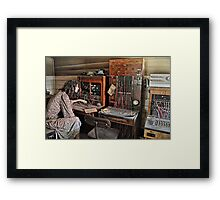 Who's Calling Please? Framed Print