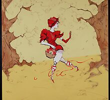 Little Red Riding Hood by Cordell Cordaro