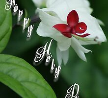 Happy Holy Days; Jingle Bells Flowers in my garden; La Mirada, CA USA by leih2008