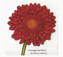Orange Gerbera by Youbeaut Designs