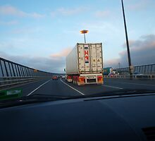 Westgate bridge crossing by byzantinehalo