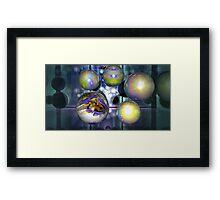 THE FRACTAL BALL Framed Print