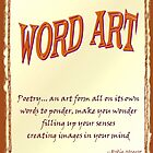 Word Art Calendar - Poetry  by Robin Monroe