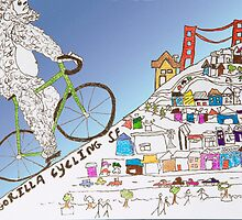 gorilla cycling ... by bicyclegood