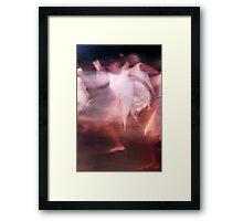 Poetry in motion Framed Print
