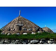 Thatched Rooves Photographic Print