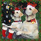 Waiting for Santa by Brenda Boisvert
