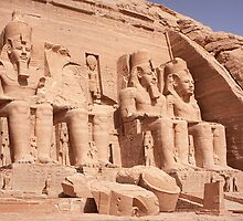 Abu Simbel by Scott Carr