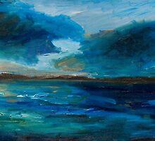 Apricot Blue Sky-Redland Bay by KarenFoster