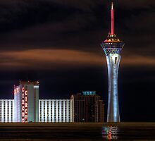 The Stratosphere after the Rain by motelgeorge
