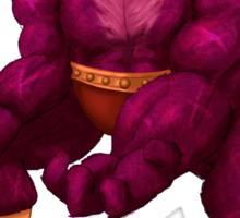 Sesame Street Fighter: Zellygief Sticker