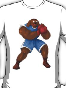 Sesame Street Fighter: Baldog T-Shirt