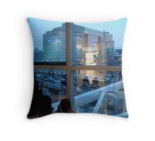 Tokyo from the Mall Throw Pillow