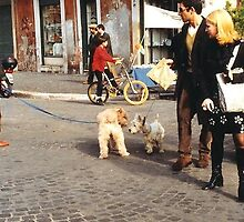 Street Scene in Italy by joycee