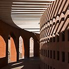 Arches and Shadows by Sue  Cullumber