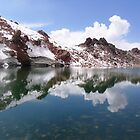 Sultan Sabalan - Sabalan's summit lake, Iran by damghani