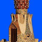Gaudi Gatehouse by Nigel Fletcher-Jones