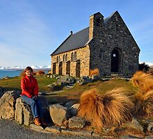 The Church Of The Good Shepherd. Tekapo, South Island, New Zealand. by Ralph de Zilva