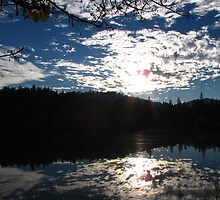 Double Sky - Outside Grants Pass, Oregon by mayauribe