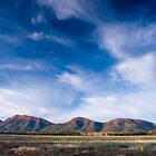 Wilpena Pound ramparts, South Australia by Neville Jones