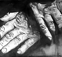 old hands by Loui  Jover