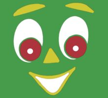 Gumby Face Tee by GumbyRoffo