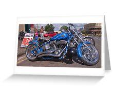 Harley Davidson Greeting Card