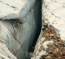 Above the Crevasse by Sally Haldane