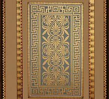 Roman swastika pattern by Christopher Biggs
