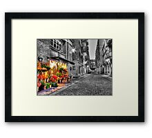 Say It With Flowers - HDR Framed Print