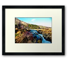 White Water on The River Duddon Framed Print