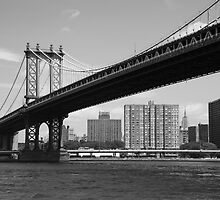 Manhattan Bridge by Frank Romeo