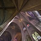 Ceiling at Notre Dame de Paris by Robert Former