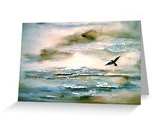 Nova Scotia...Where the Sea Meets the Sky.. Greeting Card