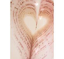I Love Music~ Photographic Print
