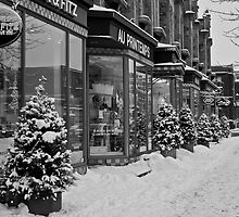 Montreal Boutiques  by Mark David Barrington