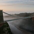 The Clifton Suspension Bridge by Steve  Liptrot
