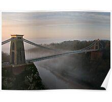 The Clifton Suspension Bridge Poster
