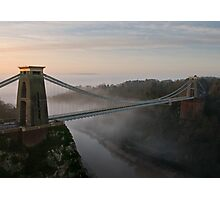 The Clifton Suspension Bridge Photographic Print